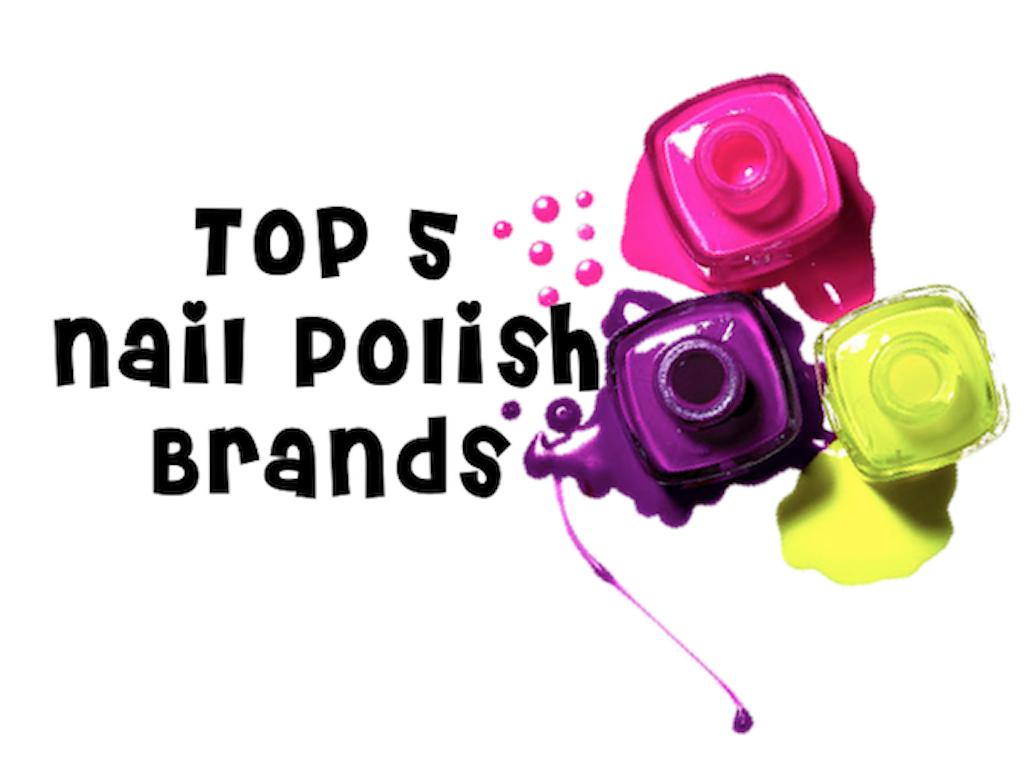 Manicure Mondays: Top 5 Nail Polish Brands - Lockstitch Style